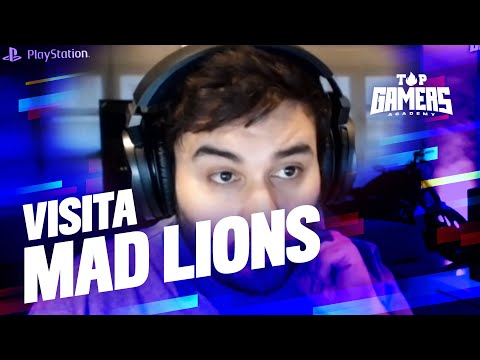VISITA de MAD LIONS | TOP GAMERS ACADEMY
