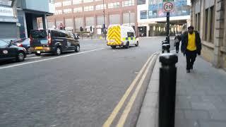 Northumbria Police IRT on Blues & Twos.
