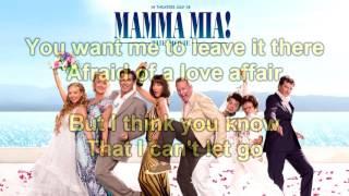 Mamma Mia! The Movie Soundtrack: Take a Chance on Me (Instrumental/Karaoke) + Lyrics