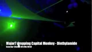 Major7 dropping Capital Monkey - Diethylamide @Israel 2012