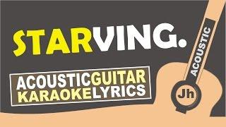 Hailee Steinfeld, Grey - Starving ft. Zedd [ Karaoke Acoustic ]