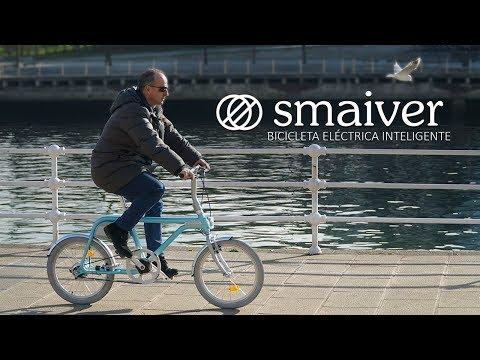 Bicicleta eléctrica inteligente SMAIVER