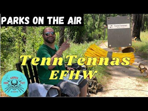 POTA QRP   TennTennas QRP EFHW & Icom IC-705
