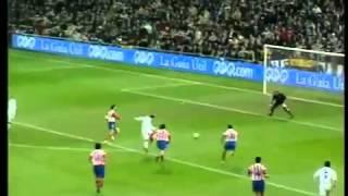 Figo vs Atletico Madrid 2002 goal