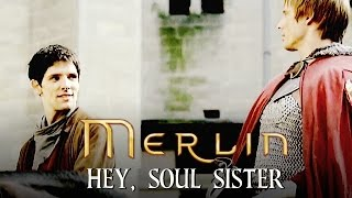 Merlin - Hey, Soul Sister (Merlin + Arthur)