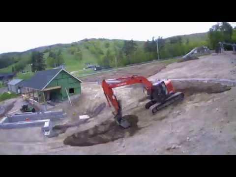 Mountain Coaster Construction Time Lapse