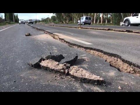 Los registros que dejó el sismo 6,4 en Argentina y que se sintió también en Chile