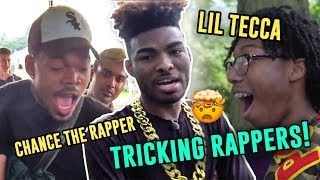 Jibrizy Tricks EVERY Rapper! Street Magic On Lil Tecca, Chance The Rapper, Lil Mosey & More 😱