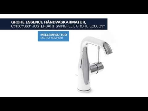 PRODUKT | Grohe Essence håndvaskarmatur M-Size