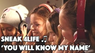 Sneak 'You WIll Know My Name' - 4LIFE | Junior Songfestival 2015