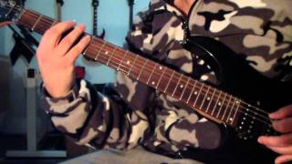 Morgoth - Sold Baptism (guitar cover)
