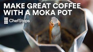 Make Great Coffee with a Moka Pot