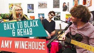 BACK TO BLACK / REHAB - Amy Winehouse (BO documentaire 'AMY') - Cover avec Lola Dubini et Tiwayo