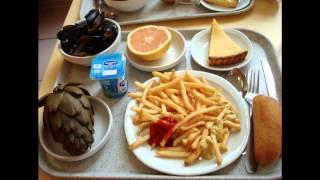 世界の給食 School lunches from around the world