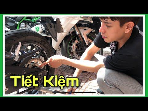 Rửa Xe Moto PKL Sau Cơn Mưa –  đơn giản tiết kiệm nhưng vẫn sạch đẹp