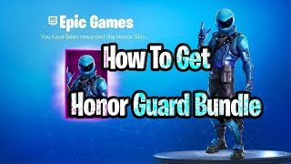 How to get the honor guard skin bundle for free right now in