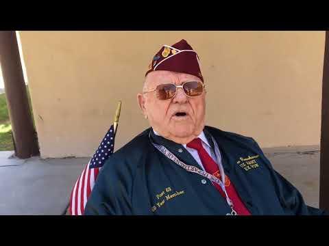 Former POW ceremony in Albuquerque