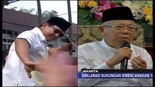 Prabowo Joget dan Tolak Nisa Sabyan   Ma'ruf Amin Terima Dukungan FBR - iNews Siang 09/03