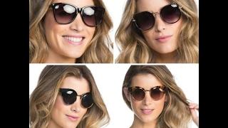 Moda Fashion em Óculos de Sol em 2017