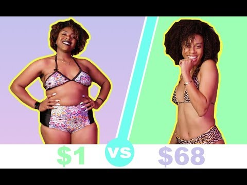 Women Try Cheap Vs. Expensive Swimsuits