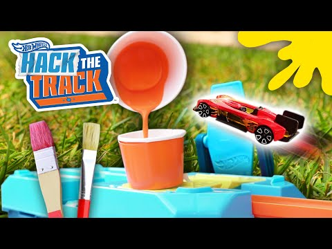 @Hot Wheels    The Most Epic Painting DIY Challenge! 🎨🖌️   Hack the Track