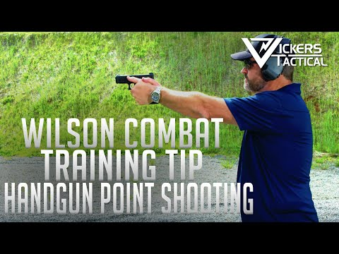 Wilson Combat Training Tip Handgun Point Shooting 4K