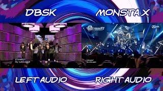 DBSK & MONSTA X - Mirotic (Live Comparison)