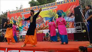 Mele vich pain Bolliyan - Beautiful Stage Dance At Baisakhi Mela Bhagwati Nagar PUran Nagar JAmmu