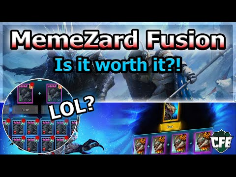 RAID Shadow Legends | MemeZard Fusion | Is it worth it?!