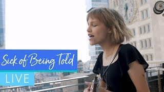 "Grace VanderWaal - ""Sick of Being Told"" (Live)"
