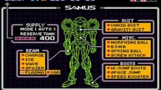 Super Metroid - Plasma y Spazer a la vez (Glitch destructivo)
