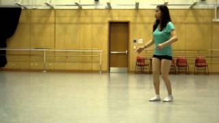 my first choreography dance piece