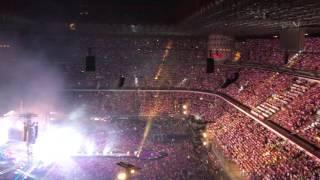 Coldplay live San Siro, Milano 3/7/17 Fine concerto