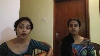 Walaathula siriyahane (dala rala pela teledrama) cover by Reeni De Silva & Michelle De Silva