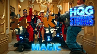 24k Magic by Bruno Mars (With Lyrics) - HQG Studios