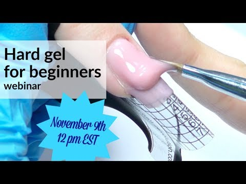 Hard Gel for Beginners. Live