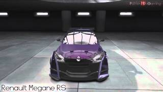 Need for Speed Shift 2 || My Cars || feat. VW Scirocco, Golf 5 GTI and more || HD