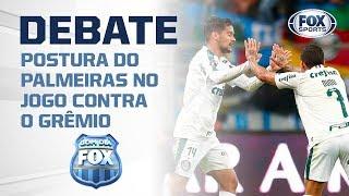 VAI COMEÇAR CAUTELOSO? Postura do Palmeiras no jogo contra o Grêmio é tema no