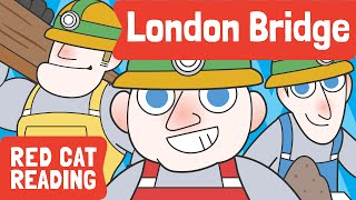 London Bridge is Falling Down | Nursery Rhyme | Kids Song | Made by Red Cat Reading