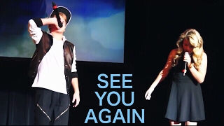 MattyB and Carissa Adee - See You Again (Live in Boston)