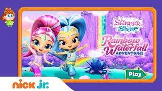 Shimmer and Shine: 'Rainbow Waterfall Adventure' Game Walkthrough | Nick Jr. Gamers