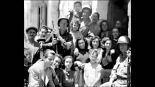 World War II allies invade italy
