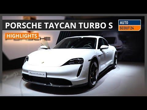 Porsche Taycan - Highlights von der Auto Zürich 2019