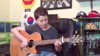 Moves Like Jagger - Maroon 5 - ft. Christina Aguilera - Fingerstyle Guitar Cover