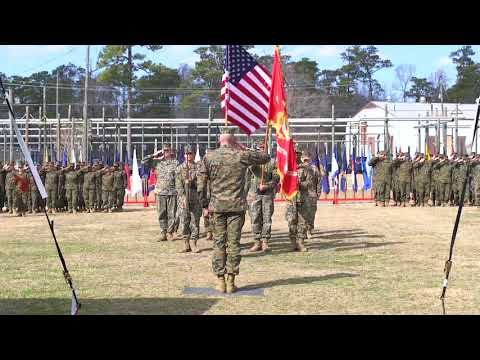 DFN: Field Medical Training Battalion-East Change of Command, CAMP LEJEUNE, NC, USA, 02.09.2018