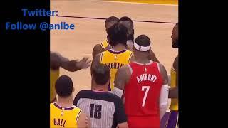 Fight the NBA 2019! Lakers vs Hockets