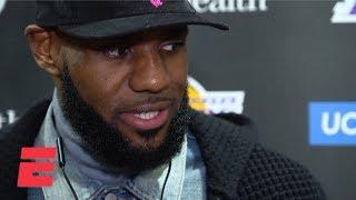 LeBron James calls Rajon Rondo's game winner vs. the Celtics a 'storybook ending' | NBA Sound