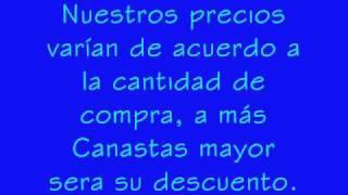 CANASTAS NAVIDEÑAS 2008 de Regalos El Colibri