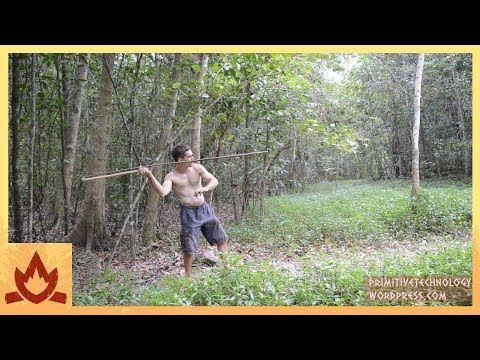 Primitive Technology: Spear Thrower Poster