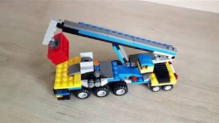 Building Lego creator 31033